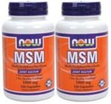 NOW Foods MSM, 240 Capsules