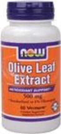 NOW Foods Olive Leaf Extract 500 mg., 60 Vegi Capsules