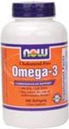 Omega-3 1000 mg. per gel Cholesterol Free