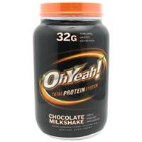 Oh Yeah! Protein Powder, 2.4 Pounds, Chocolate Milk Shake Flavor 788434111256
