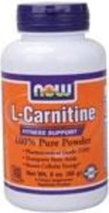 NOW Foods L Carnitine Powder, 3 Ounces