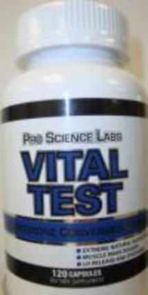 Pro Science Labs Vital Test, 120 Capsules
