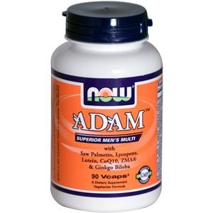 ADAM Superior Men's Multiple Vitamin, 90 Vegi Capsules 733739038784