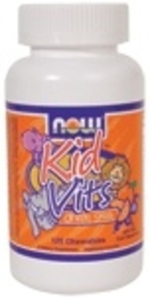 NOW Foods Kid Vits - Multi-Vitamin, 120 Chewables
