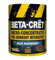 BETA-CRET Micro-Concentrated Pre-Workout Intensifier, 36 Servings, Blue Raspberry Flavor 682676732364
