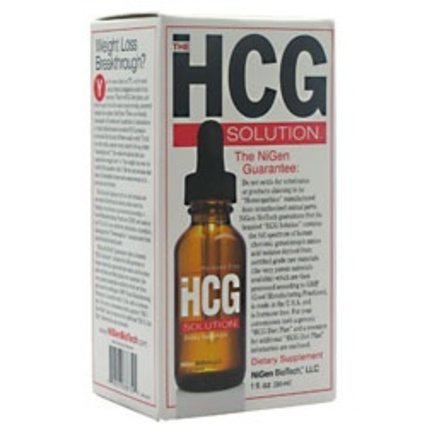 Basic Research HCG solution, 1 Fluid Ounce