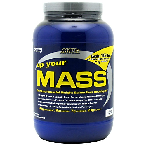 Up Your Mass, 2 Pounds, Vanilla Flavor 666222732305