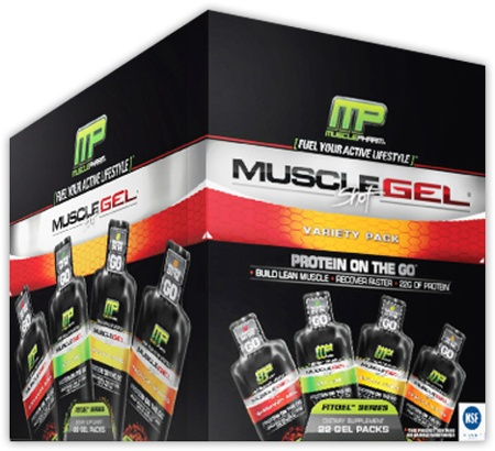 Muscle Gel Shots, 12 Shots, Key Lime Flavor 736211991515