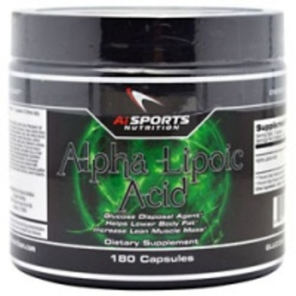 AI Sports Alpha Lipoic Acid, 180 Capsules