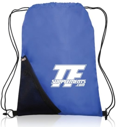 TFSupplements Draw String Bag with iPhoneiPod holder