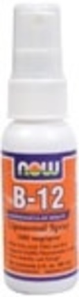 NOW Foods Vitamin B-12 Liposomal Spray, 2 Fluid Ounces