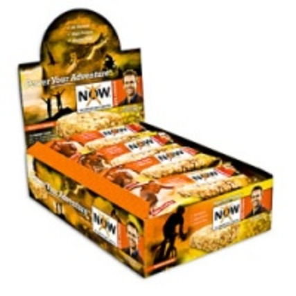 NOW Bars Energy Bar, 12 Bars
