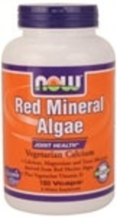 NOW Foods Red Mineral Algae, 180 Vegi Capsules
