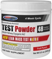 Test Powder, 240 Grams, Fruit Punch Flavor 094922368973