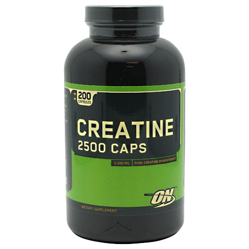 Optimum Nutrition Creatine, 200 Capsules