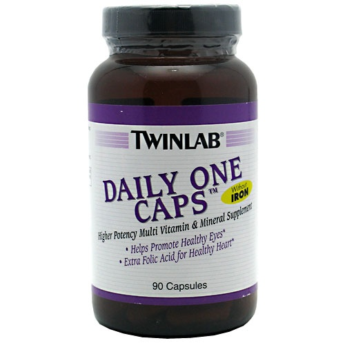 DAILY ONE CAPS WITHOUT IRON, 90 Capsules 027434003537
