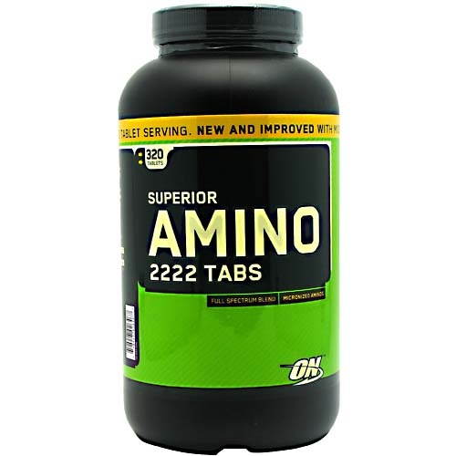 Optimum Nutrition Superior Amino 2222 Tabs, 320 Tablets