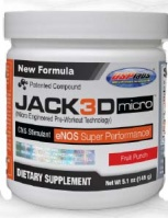 USP Labs Jack3D Micro, 40 Servings
