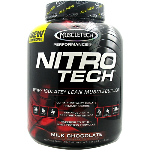 Muscletech Performance Series Nitro-Tech, 4 Pounds