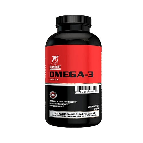 Betancourt Nutrition Omega-3 EFA-Stack, 270 Softgels