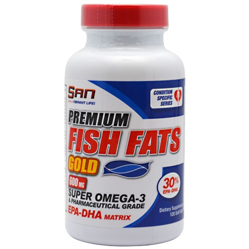 SAN Nutrition Fish Fats Gold