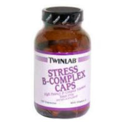 Twinlab STRESS B-COMPLEX WITH VITAMIN C, 100 Capsules