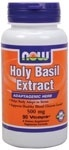 NOW Foods Holy Basil Extract  500 mg. per capsule, 90 Vegi Capsules