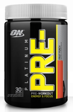 Optimum Nutrition PLATINUM PRE, 30 Servings