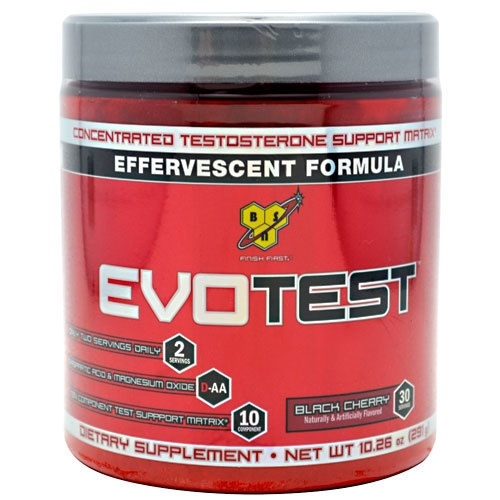 EvoTest, 30 Servings, Black Cherry Flavor 834266004041