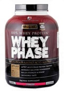 Whey Phase, 5 Pounds, Strawberry Flavor 856036003023