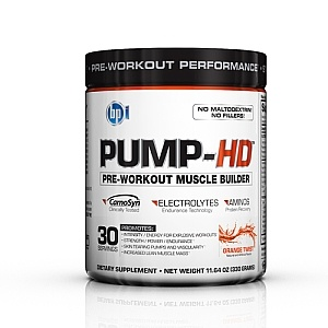 PUMP-HD, 30 Servings, Orange Twist Flavor 851780004814