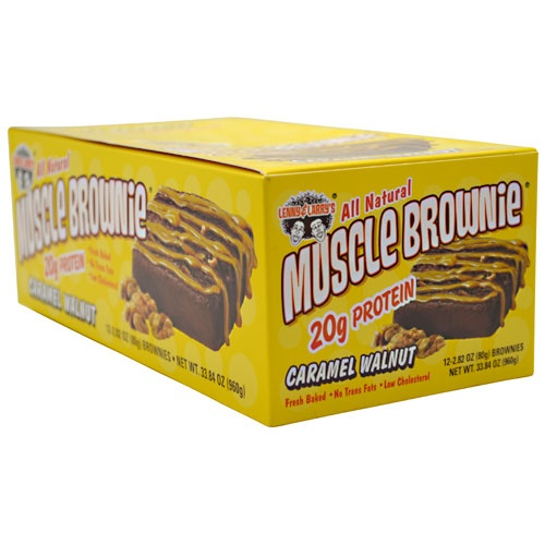 Lenny & Larry's Muscle Brownie, 12 Bars