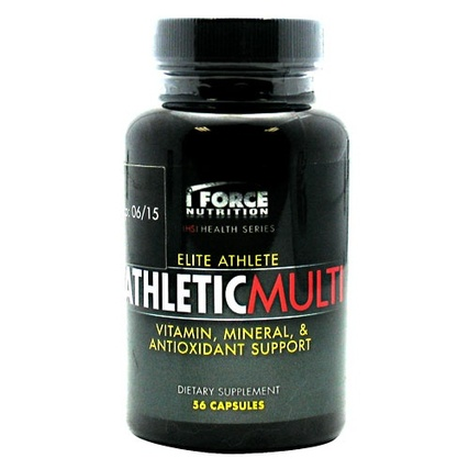 I Force Athletic Multi, 56 Capsules