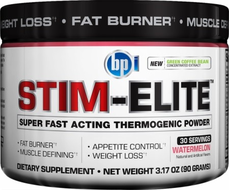 STIM-ELITE, 30 Servings, Blue Raspberry Flavor 851780004968