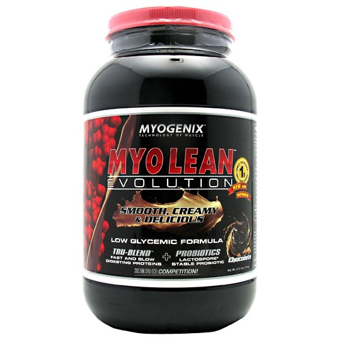 Myo Lean Evolution, 2.38 Pounds, Chocolate-Peanut Butter Cup Flavor 680269639038