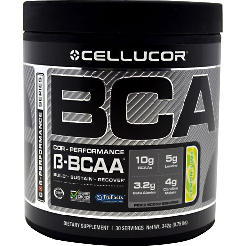 COR-Performance Series BCAA, 30 Servings, Lemon Lime Flavor 810390025350