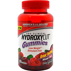 Muscletech Pro Clinical Hydroxycut Gummies, 60 Gummies