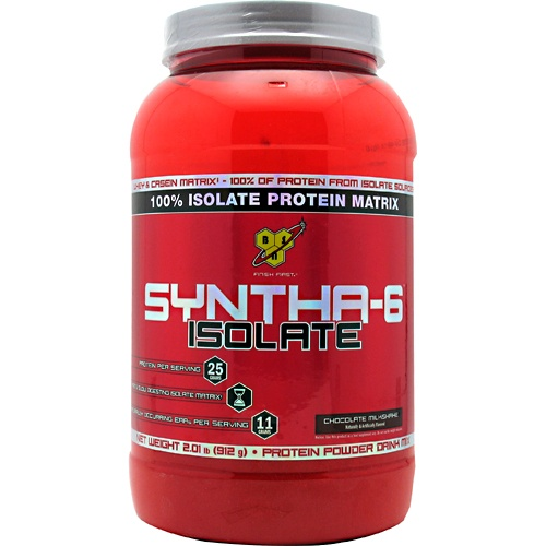 Isolate Syntha-6, 2.01 Pounds, Strawberry Milk Shake Flavor 834266066155