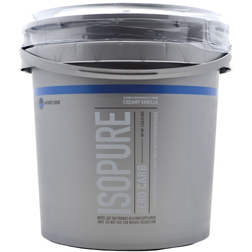 ISOPURE (Zero Carb), 7.5 Pounds, Strawberries & Cream Flavor 089094021559