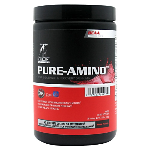 Pure Amino, 28 Servings, Fruit Punch Flavor 857487004171