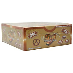 MetraGenix (2:1 PROTEIN BARS) 5:1 Chocolate Covered Pretze, 12 Bars