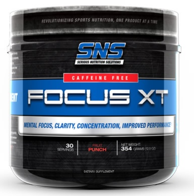 Focus XT Caffeine Free, 354 Grams, Fruit Punch Flavor 899773000825
