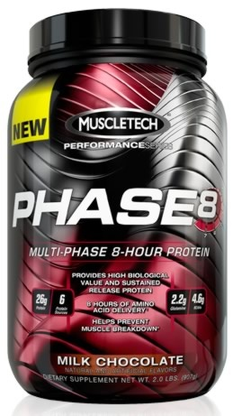 PHASE-8 MULTI-PHASE, 22 Servings, Chocolate Flavor 631656703467