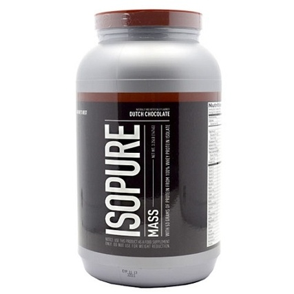 Natures Best ISOPURE MASS, 3.25 Pounds