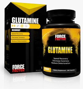 Force Factor Glutamine, 180 Capsules