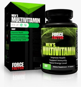 Force Factor Men's Multivitamin, 60 Tablets
