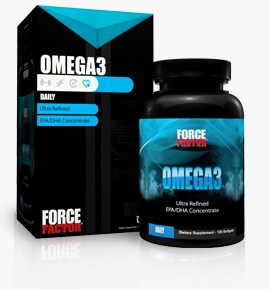 Force Factor Omega-3, 120 Softgels