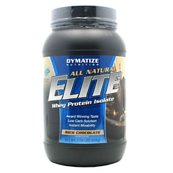 All Natural Elite Whey, 2 Pounds, Rich Chocolate Flavor 705016433315