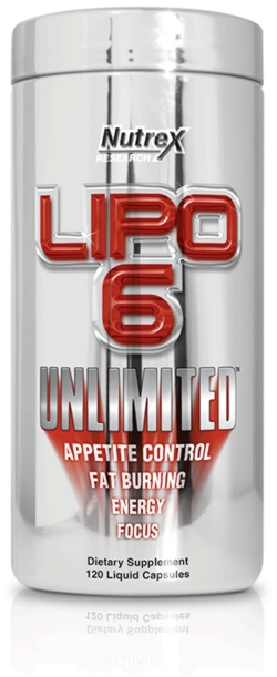 Nutrex LIPO 6 UNLIMITED, 120 Capsules
