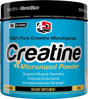 4 Dimension Nutrition Creatine, 60 Servings